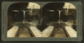 Front view of ladle emptying molten iron into moulds, pig iron machine, Pittsburg, Pa., U.S.A, from Robert N. Dennis collection of stereoscopic views.png