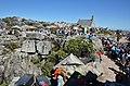 Fronta na lanovku - Stolová hora, Kapské město - panoramio.jpg