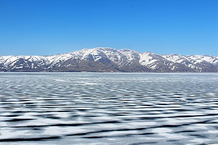 Lake Sevan (frozen)
