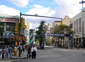 Fulton Street (Brooklyn) - Fulton Mall in 2006
