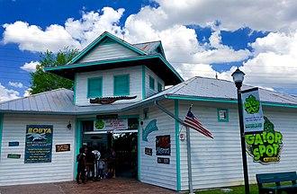 Fun Spot America Theme Parks - Gator Spot Entrance at Fun Spot America Orlando