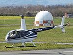 G-DUKY Robinson Raven Helicopter (26432358305).jpg