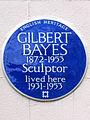 GILBERT BAYES 1872-1953 Sculptor lived here 1931-1953.jpg