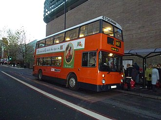 Leyland Atlantean - Image: GM Buses South bus 4706 (A706 LNC), 2012 MMT Christmas Cracker