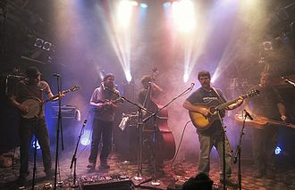 Greensky Bluegrass - Greenksy Bluegrass at the 8x10 Club in Baltimore, January 2012