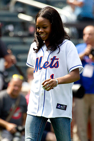Fierce Five - Image: Gabby Douglas At Mets Game