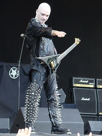 Galder - Galder playing live with Dimmu Borgir