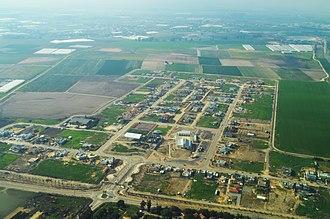 Ganei Tal - Image: Ganei Tal (New) Aerial View