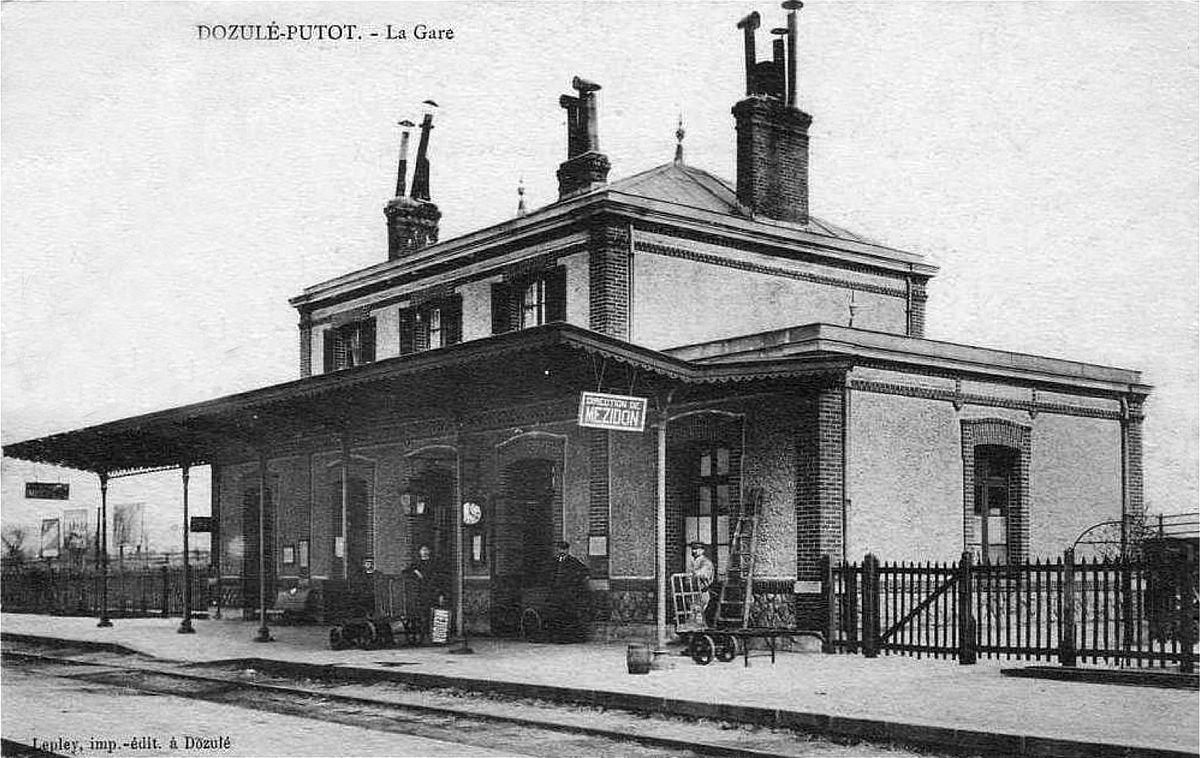 Gare de Dozulé - Putot — Wikipédia