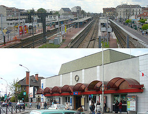 Aulnay-sous-Bois - The SNCF Railway Station