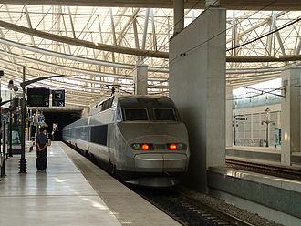 Aéroport Charles de Gaulle 2 TGV - Image: Gare CDG 2