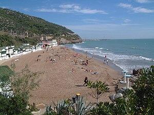 Garraf (Sitges) - Garraf beach
