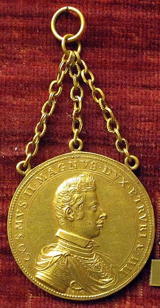 File:Gasparo mola, medaglia di cosimo II de' medici, recto (oro).JPG