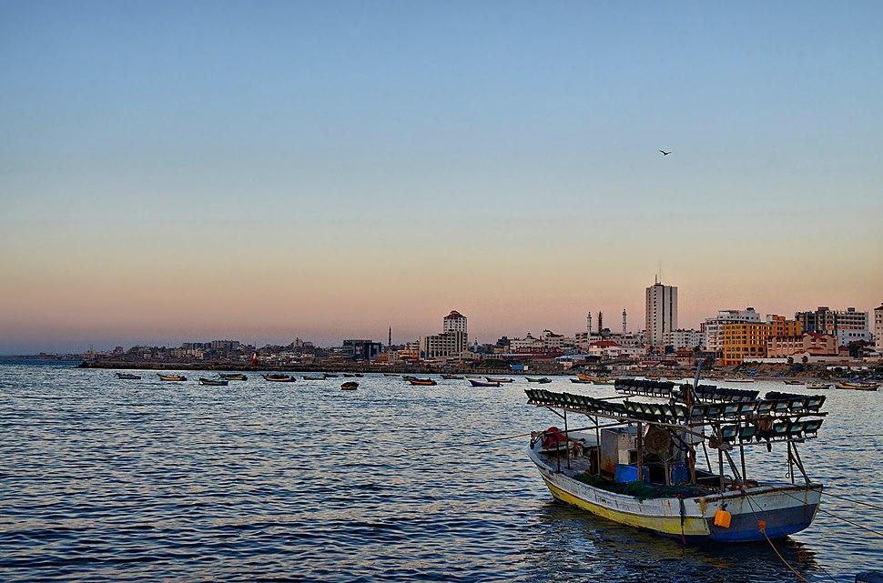 Gaza port