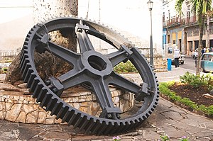 Gear Near the Matanzas Cathedral