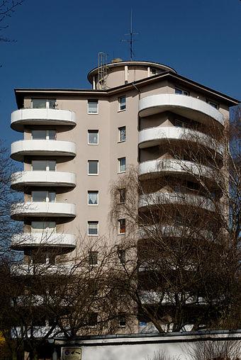 architektur der 1950er jahre in düsseldorf - wikiwand, Hause ideen