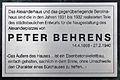 Gedenktafel Alexanderplatz 2 (Mitte) Peter Behrens.jpg