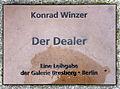 Gedenktafel Spandauer Damm 130 (Westend) Der Dealer&Konrad Winzer&1982.jpg