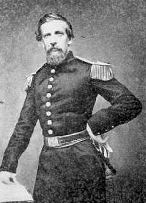 John S. Bowen - Bowen in the uniform of a lieutenant colonel of the Missouri Volunteer Militia.