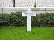 Patton's grave in Luxembourg