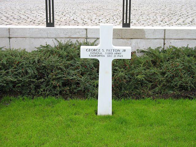 Могила Паттона в Люксембурге