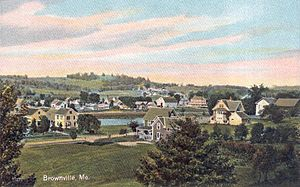 Brownville, Maine - General view c. 1910