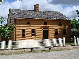 Genesee Country Village and Museum - Image: Genesee Country Village Colonial