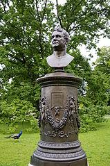 statue of Augustin Pyramus de Candolle