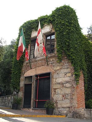 House of Christopher Columbus in Genoa, Italy.