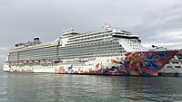 Genting Dream at Marina Bay Cruise Centre (cropped).jpg
