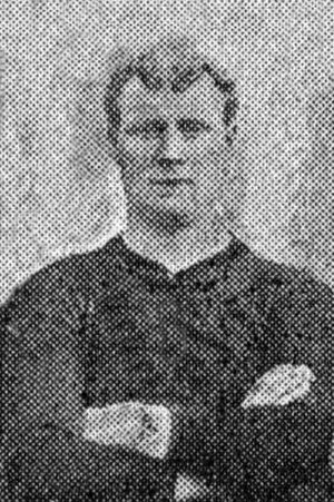 George Rushton - Rushton while with Brentford in 1909.