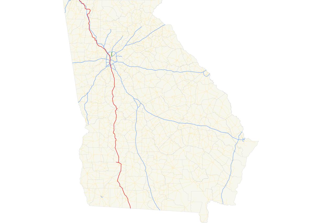 Georgia State Route 3 Wikipedia