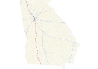 Georgia State Route 3 highway in Georgia
