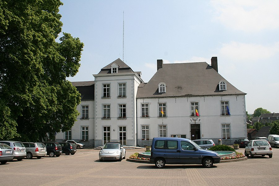 Gerpinnes   (Belgium), the town hall.