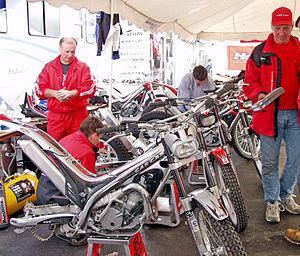 Gas Gas - Gas Gas trials paddock, Duluth, MN 2004.