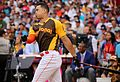Giancarlo Stanton competes in semis of '16 T-Mobile -HRDerby. (28468368712).jpg