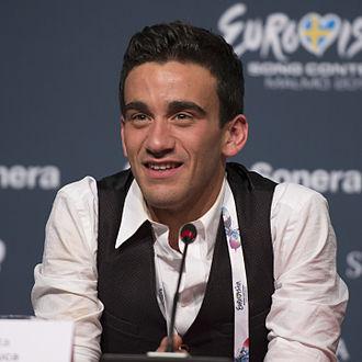 Gianluca Bezzina - Gianluca during a Eurovision 2013 press conference