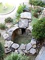 Giardino del museo archeologico, cella di una tomba da vetulonia, VII-VII sec ac. 03.jpg