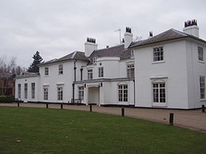Scouting in Greater London - The White House at Gilwell Park