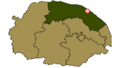 Gimingham within North Norfolk.png