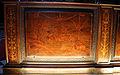 Giovan Francesco Capoferri su dis. di lorenzo lotto, coperta 'viduitatis gloria' con spada pendente e testa di oloferne, 1527-31, 01.JPG