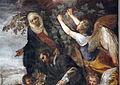 Giovanni da s. giovanni (in basso) e volterrano (in alto), s. felice soccorre s. massimo, 1636, 04.JPG