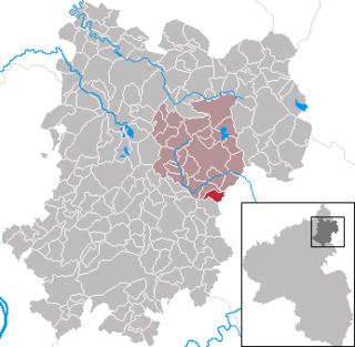 Girkenroth Place in Rhineland-Palatinate, Germany