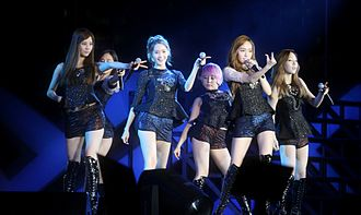 "Tell Me Your Wish (Genie) (song) - Girls' Generation performing ""Genie"" in Singapore, November 2012"