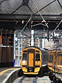 Glasgow Queen Street - Abellio 158740 arriving from Alloa.JPG