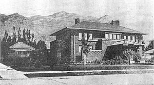 Gustav Becker House - Image: Glbecker 1915s