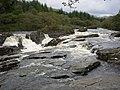 Glen Orchy - Eas Urchaidh waterfall - geograph.org.uk - 1526231.jpg