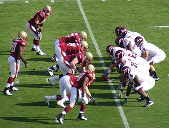2007 ACC Championship Game - Sean Glennon (far right, under center), was the game's MVP.