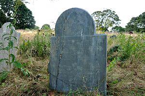 First Parish Burial Ground - An 18th-century grave marker
