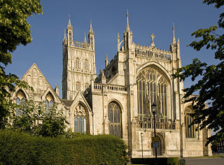 Gloucester Cathedral Church in Gloucestershire, United Kingdom